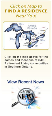 Plan Your Retirement Living in an S&R Retirement Community
